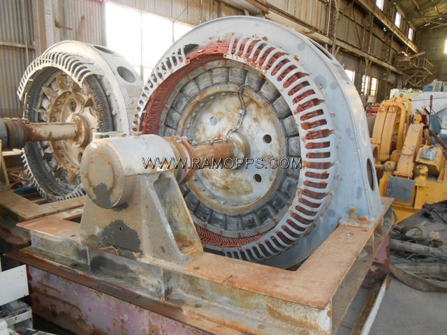 500hp Ge Synchronous Motors For Sale
